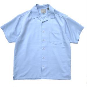 Open Collar Shirt / Lt Blue / Used