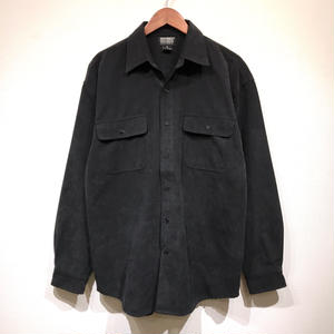 Used / Suede Shirts B / Black M