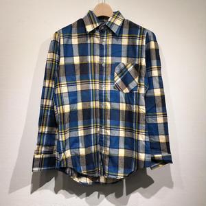 DEAD STOCK / L/S Print Flannel Shirts