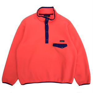 Made in USA / 89s Patagonia / SnapT Fleece Jacket  / Coral Pink / Used