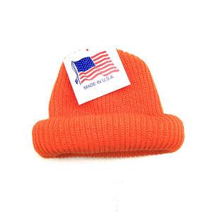 Made in USA / Knit Cap / Orange