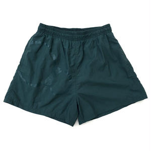 OLD OP / Outdoor Nylon Shorts /  DarkGreen / USED