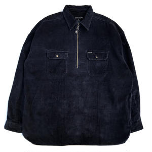 Corduroy Shirt Jacket / Navy / Used