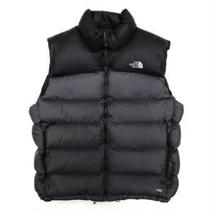 THE NORTH FACE / Nuptse Down Vest / Black / Used