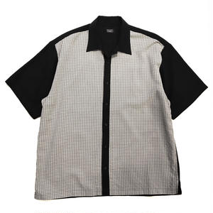 Used Open Collar Shirt / Black