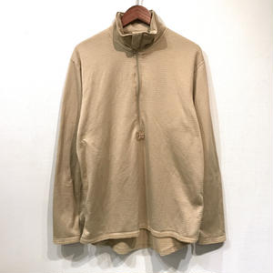 【DEAD STOCK】Made in USA / Mid Weight Cold Weather Gen 3 POLARTEC  FLEECE Pulover / Coyote M