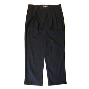 Eddie Bauer / Cotton 2Tuck Slacks  / Navy / Used