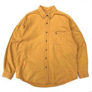 Eddie Bauer / L/S B.D. Shirt / Mastard / Used