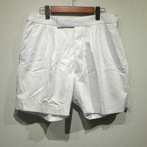 "British Navy ""Dead Stock"" 2 Tuck Shorts / White"