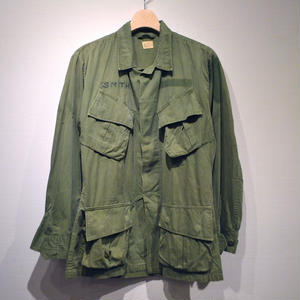 60s US ARMY / Jungle Fatigue Jacket 3rd / Non-Rip