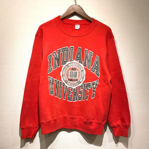 """80s Champion /  Sweater """"INDIANA"""" / RED L"""