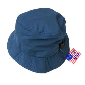Made in USA / NEC / Nylon Bucket Hat / NAVY