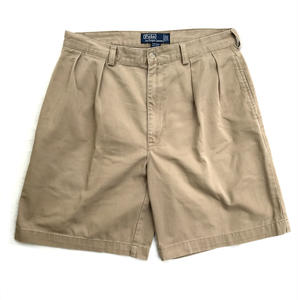 Polo Ralph Lauren / 2Tuck Shorts  / Camel H / Used