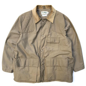 Made in USA / 80~90s L.L.Bean / Dead Stock / Hunting Jacket / Beige