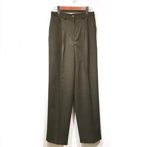 OLD Wool Slacks / Olive