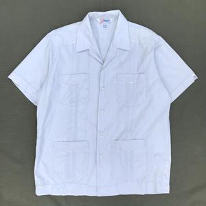 Used Cuba Shirts / Light Grey