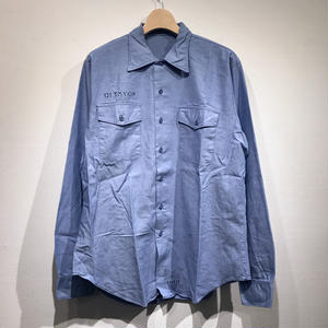OLD US NAVY / L/S COTTON CHAMBRAY SHIRTS A