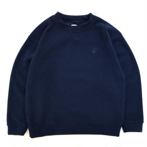 RWCHE / DUDE FLEECE SWEAT / NAVY