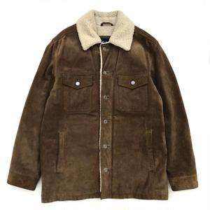 Old GAP / Suede Boa Jacket / Brown / Used