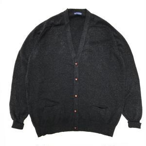 Made in United Kingdom / LANDS' END / Wool Cardigan / BLack / Used