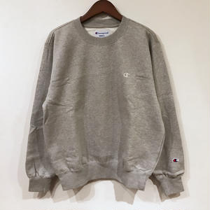 90s Champion / Brushed back Sweater / Gray