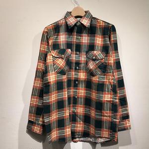 DEAD STOCK OSHKOSH / L/S Print Flannel Shirts