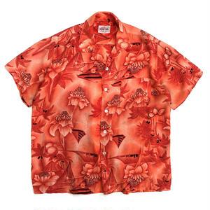 Made in Japan / Hawaiian Shirt / Orange / Used