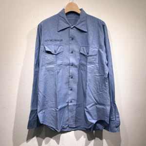 OLD US NAVY / L/S COTTON CHAMBRAY SHIRTS  B