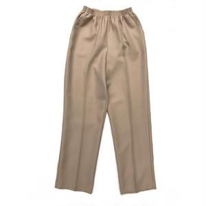 Unisex  / Easy Trousers / Beige