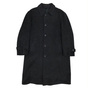 OLD Wool Stain Collar Coat / Charcoal / Used