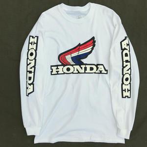 Dead Stock / Metro Racing / L/S JAPAN Motorcycle Tee / White