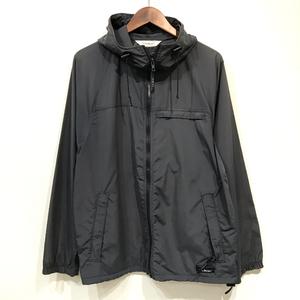 USED L.L.BEAN / Full Zip Nylon Jacket / BLACK