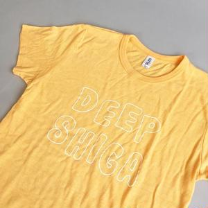O.W.L. / DEEP SHIGA T-SH / YELLOW / オウル / ディープ滋賀Tシャツ / イエローヘザー