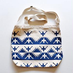 TACOMA FUJI RECORDS / ALASKAN KING CRAB TOTE designed by Jerry UKAI / NAVY / タコマフジ / ジェリー鵜飼 / ネイビー