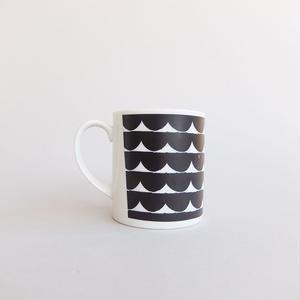 BLANKS / RYUJI KAMIYAMA / MUG CUP / WHITE×BLACK / ブランクス / 神山隆二 / マグカップ / ホワイト×ブラック