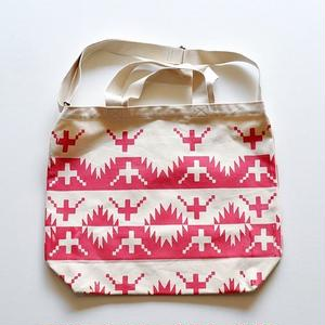 TACOMA FUJI RECORDS / ALASKAN KING CRAB TOTE designed by Jerry UKAI / PINK / タコマフジ / ジェリー鵜飼 / ピンク