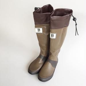 日本野鳥の会 / バードウォッチング長靴 / ブラウン