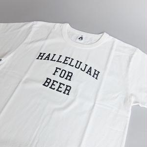 TACOMA FUJI RECORDS / HALLELUJAH FOR BEER / SHUNTARO WATANABE / WHITE / タコマフジ  / 渡辺俊太郎 / ホワイト
