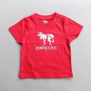 COWBOOKS / KID'S T-SHIRTS / RED / カウブックス / キッズTシャツ / レッド