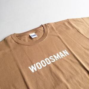 -CONNECT- ORIGINAL / WOODSMAN TEE / CAMEL / コネクトオリジナル / ウッズマンTシャツ / キャメル