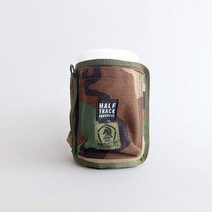 HALF TRACK PRODUCTS × BALLISTICS / WET COVER POCKET / ハーフトラックプロダクツ × バリスティックス / ウェットカバーポケット / ウッドランド