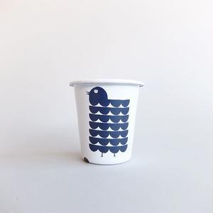BLANKS / RYUJI KAMIYAMA / CUP / WHITE×NAVY / ブランクス / 神山隆二 / ホーローカップ / ホワイト×ネイビー
