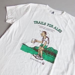 TACOMA FUJI RECORDS / TRAILS FOR ALES designed by Jerry UKAI / WHITE / タコマフジ / ジェリー鵜飼 / ホワイト
