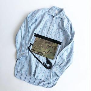 RYUJI KAMIYAMA / RE-MAKE SHIRTS / CAMO POCKET / 神山隆二 / リメイクシャツ