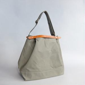 SUOLO / CROP / LT.OLIVE × BROWN LEATHER  / スオーロ / クロップ / ライトオリーブ × ブラウンレザー