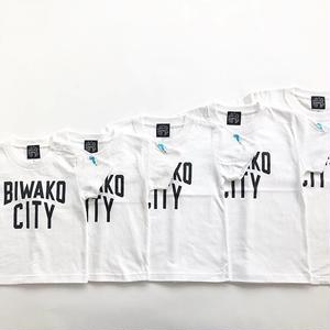 -CONNECT- ORIGINAL / BIWAKO CITY KID'S TEE / WHITE  / コネクトオリジナル / ビワコシティTシャツ / キッズ / ホワイト