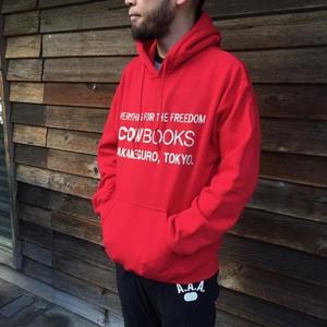 Book Vender hoodie (Logo /Red)