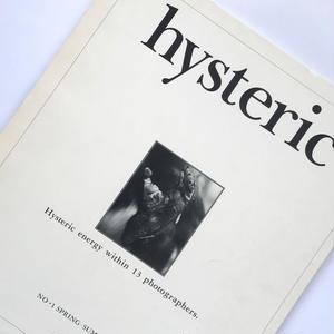 Title/ hysteric No.1 Author/ 綿谷修 、奈良原一高他