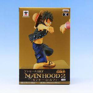 ワンピース DXF MANHOOD2 モンキー・D・ルフィ アニメ フィギュア グッズ プライズ バンプレスト