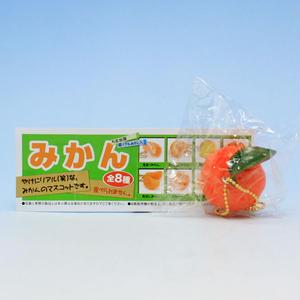 そのままみかん  (みかん 5次出荷 超リアルみかん入 果物 フルーツ 柑橘 おもちゃ グッズ ガチャ ビーム)